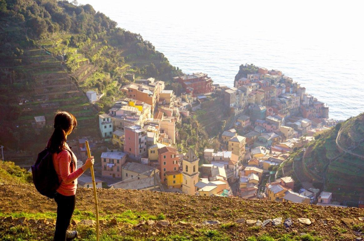 Vlieg-busreis Wandelvakantie Cinque Terre