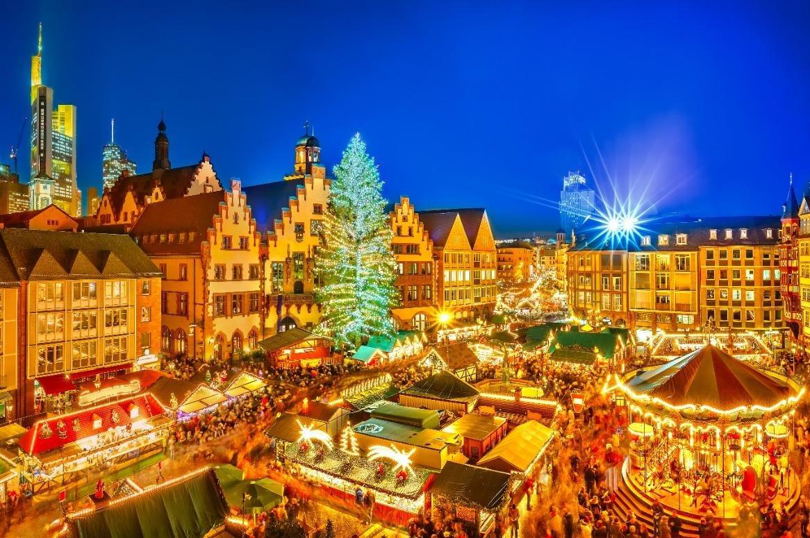 Kerstmarkt weekend Frankfurt