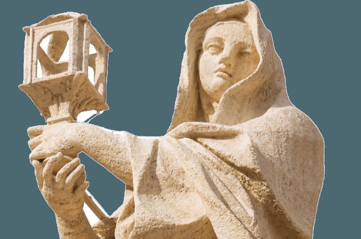 assisi standbeeld