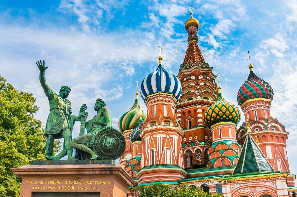 Moskou - Basiliuskathedraal