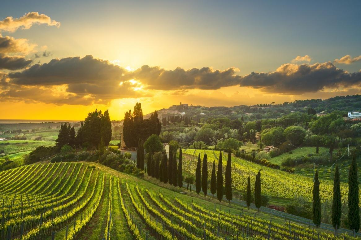 Busreis Toscane, Umbrië en Rome