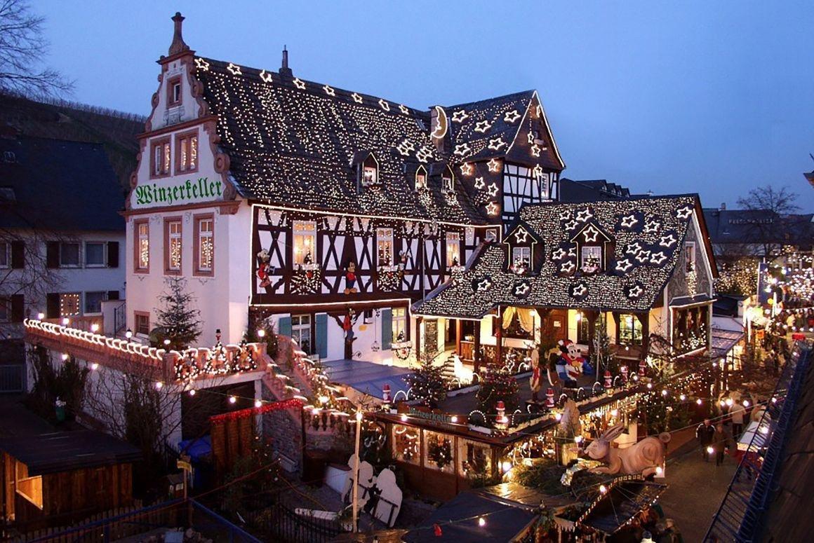 Kerstreis in het gezellige Rüdesheim