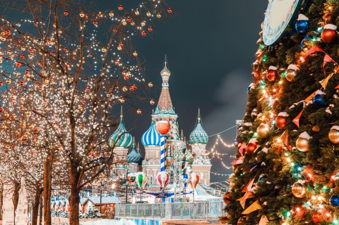Authentiek Rusland tijdens Nieuwjaar en Kerst