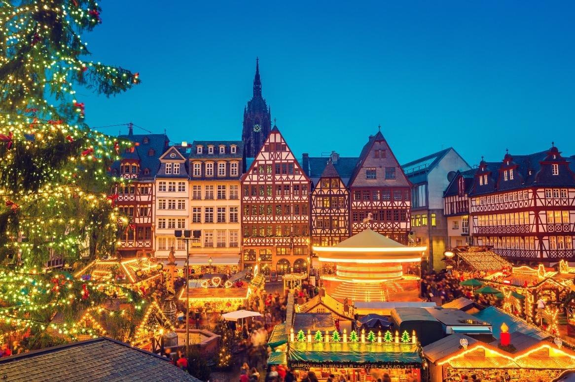 Kerstmarktweekend Frankfurt