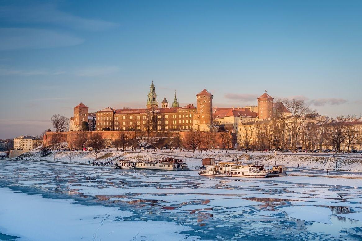 Krakau - Wawel kasteel