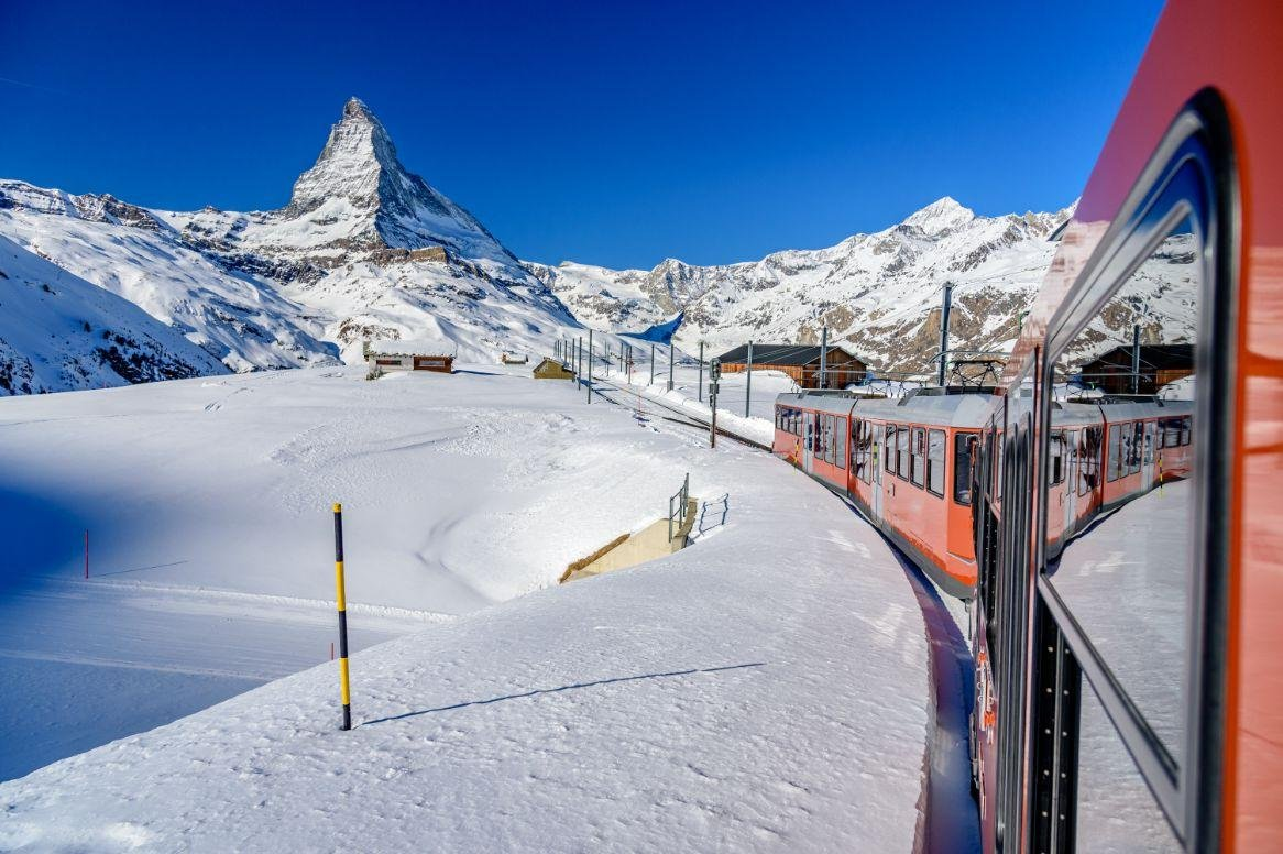 Kerstreis in de Zwitserse Alpen