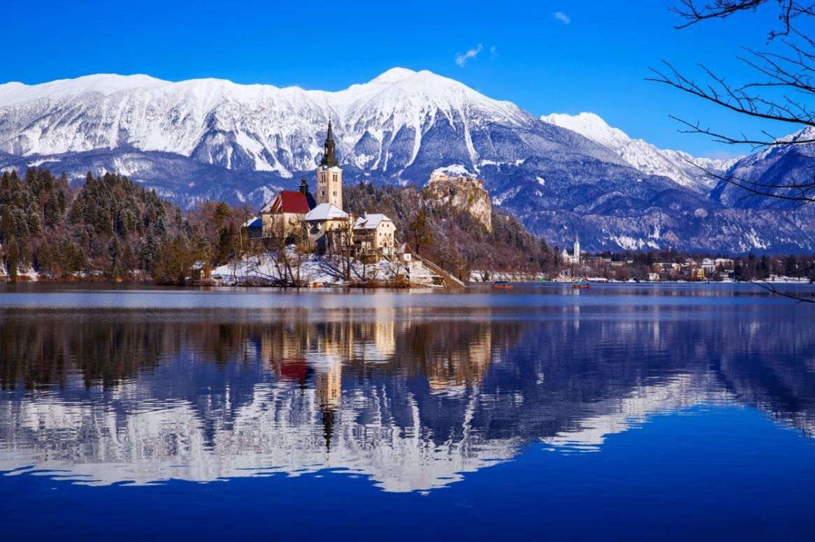 Winterreis De meren en bergen van Karinthie