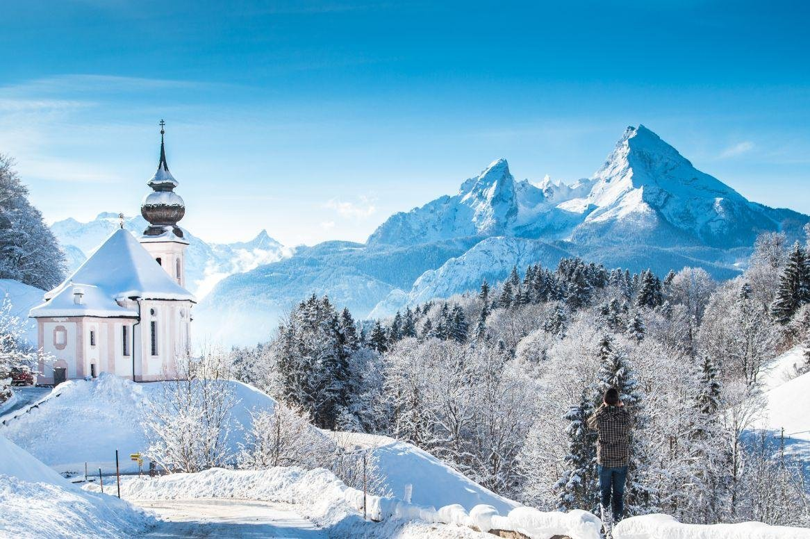 Winterreis Winterwonderland Berchtesgaden am Konigssee